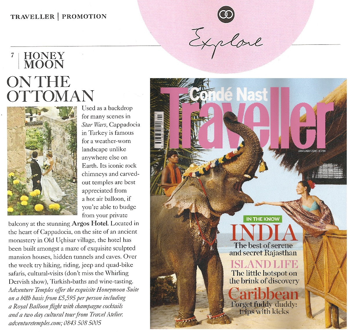 CondeNastTraveller Honeymoon Feature Jan 2013